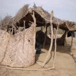 Goat herders use this hut when passing through
